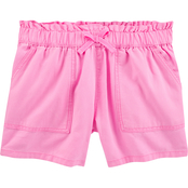 OshKosh B'gosh Little Girls Paperbag Shorts