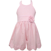 Bonnie Jean Girls Scalloped Romper