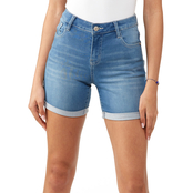 Wallflower Irresistible High Rise 5 in. Denim Shorts