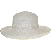 Nine West Combo Round Crown Wider Kettle Hat