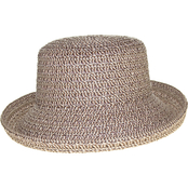 Nine West Sand Heather Mix Braid Kettle Hat