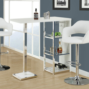 Chelsea Home Calvin Hydraulic Lift Adjustable Bar Stool