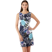 Connected Apparel Floral Sheath
