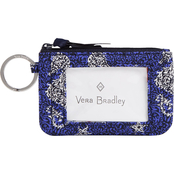 Vera Bradley Lighten Up Zip ID Case, Seashore
