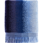 Saturday Knight LTD Eckhart Stripe Jacquard Bath Towel, Blue