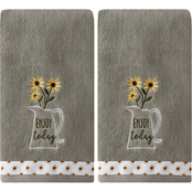 Saturday Knight LTD Enjoy Today 2 pc. Hand Towel