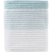 Saturday Knight LTD Planet Ombre Jacquard Bath Towel in Aqua