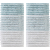 Saturday Knight LTD Planet Ombre 2 pc. Hand Towel Set, Aqua
