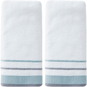 Saturday Knight LTD Go Round Terry 2 pc. Hand Towel, Natural