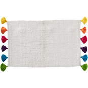 Saturday Knight Rhapsody Woven Tassle 33 x 19.5 in. Rug