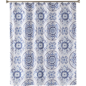 Saturday Knight Kali Fabric Shower Curtain