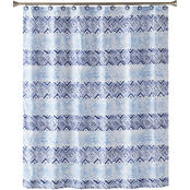 Saturday Knight Kali Diamonds Fabric Shower Curtain