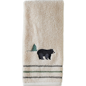 Saturday Knight LTD Home on the Range Hand Towel, Natural