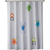 Saturday Knight LTD Monsters Fabric Shower Curtain