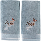 Saturday Knight LTD New Hope 2 pc. Hand Towel Set, Aqua