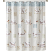 Saturday Knight New Hope Fabric Shower Curtain