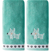 Saturday Knight LTD Scribble Pup 2 pc. Hand Towel