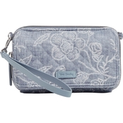 Vera Bradley Park Lace RFID All in One Crossbody