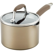 Anolon Advanced Home 2 qt. Covered Straining Saucepan