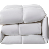 Serta Extra Warmth Count Goose Feather and Goose Down Fiber Comforter