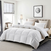 Serta All Season Count Goose Feather and Goose Down Fiber Comforter