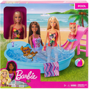 Barbie Pool with Doll Playset