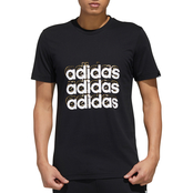 adidas Triple Logo Graphic Tee