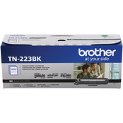 Brother Genuine TN-223BK Standard Yield Black Toner Cartridge