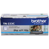Brother Genuine TN223Y Standard Yield Cyan Toner Cartridge