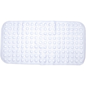 Kenney Non-Slip 15.25 x 30.75 in. Bath, Shower and Tub Mat with Suction Cups