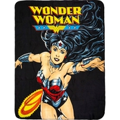 DC Comics Wonder Woman Fleece Throw