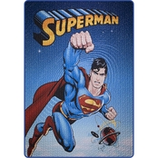 DC Comics Superman Universe Quilted Bedspread
