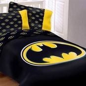 DC Comics Batman Emblem 4 pc. Comforter Set