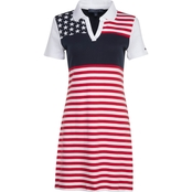 Tommy Hilfiger Flag Printed Polo Dress