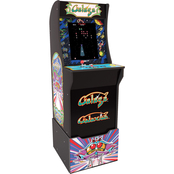 Arcade 1UP Galaga Arcade Cabinet with Riser