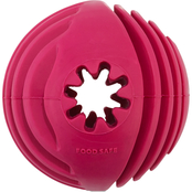 Leaps & Bounds Chomp and Chew Treat Dispenser Ball Dog Toy