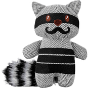 Leaps & Bounds Wildlife Plush and Raccoon Dog Toy, 6 in.