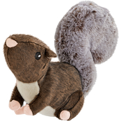 Leaps & Bounds Wild Plush Squirrel Dog Toy