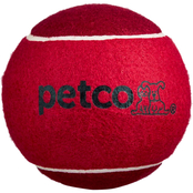 Petco Jumbo Tennis Ball Dog Toy, 4.75 in.