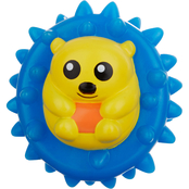 Leaps & Bounds Vinyl Hedgehog Ball Dog Toy
