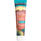 Pacifica Sun + Skincare Mineral Bronzing Face Shade Coconut Glow SPF 30