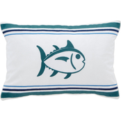 Southern Tide Dory Lane Skipjack Throw Pillow
