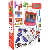 Innex Go Retro Portable Game Player, White and Red