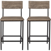 Coast to Coast Accents Tundra Counter Dining Chair 2 pk.