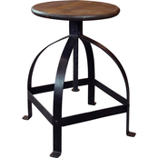 Coast to Coast Accents Adjustable Swivel Barstool