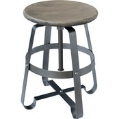 Coast to Coast Accents Biscay Adjustable Swivel Barstool