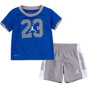 Jordan Infant Boys Michael Jordan Sportswear Iconic Tee & Shorts Set