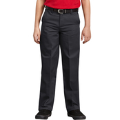 Dickies Boys Classic Fit Straight Leg Flat Front Pants