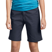 Dickies Girls Flex Slim Fit Flat Front Shorts