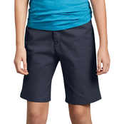 Dickies Little Girls Flex Slim Fit Flat Front Shorts